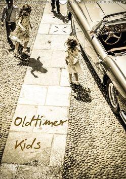 Oldtimer Kids (Wandkalender 2018 DIN A3 hoch) von Sagnak,  Petra