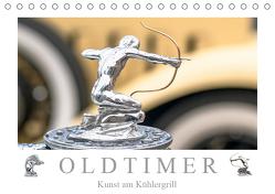 Oldtimer – Kunst am Kühlergrill (Tischkalender 2019 DIN A5 quer) von Meyer,  Dieter