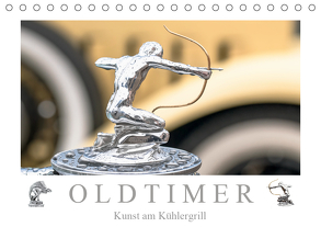 Oldtimer – Kunst am Kühlergrill (Tischkalender 2020 DIN A5 quer) von Meyer,  Dieter