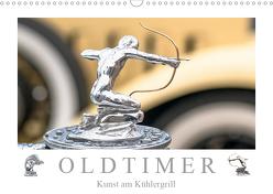 Oldtimer – Kunst am Kühlergrill (Wandkalender 2019 DIN A3 quer) von Meyer,  Dieter