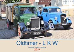 Oldtimer – L K W (Wandkalender 2019 DIN A4 quer) von Klünder,  Günther