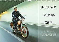 Oldtimer Mopeds – fotografiert von Michael Allmaier (Wandkalender 2019 DIN A3 quer) von Allmaier,  Michael
