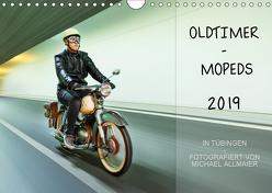 Oldtimer Mopeds – fotografiert von Michael Allmaier (Wandkalender 2019 DIN A4 quer) von Allmaier,  Michael