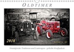 Oldtimer – nostalgische Traktoren und LastwagenAT-Version (Wandkalender 2018 DIN A4 quer) von Roder,  Peter
