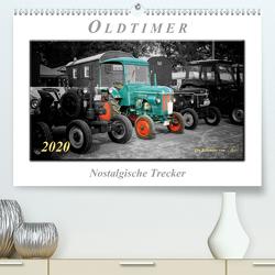 Oldtimer – nostalgische Trecker (Premium, hochwertiger DIN A2 Wandkalender 2020, Kunstdruck in Hochglanz) von Roder,  Peter
