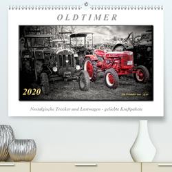 Oldtimer – nostalgische Trecker und Lastwagen (Premium, hochwertiger DIN A2 Wandkalender 2020, Kunstdruck in Hochglanz) von Roder,  Peter