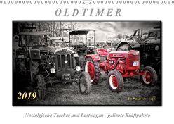 Oldtimer – nostalgische Trecker und Lastwagen (Wandkalender 2019 DIN A3 quer) von Roder,  Peter