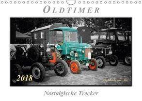 Oldtimer – nostalgische Trecker (Wandkalender 2018 DIN A4 quer) von Roder,  Peter