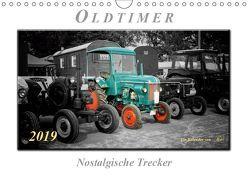 Oldtimer – nostalgische Trecker (Wandkalender 2019 DIN A4 quer) von Roder,  Peter