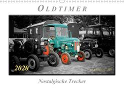 Oldtimer – nostalgische Trecker (Wandkalender 2020 DIN A3 quer) von Roder,  Peter