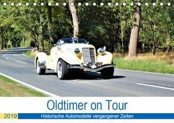 Oldtimer on Tour (Tischkalender 2019 DIN A5 quer) von Klünder,  Günther