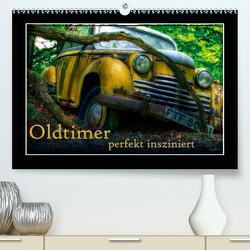 Oldtimer perfekt insziniert (Premium, hochwertiger DIN A2 Wandkalender 2020, Kunstdruck in Hochglanz) von Adams,  Heribert