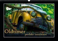 Oldtimer perfekt insziniert (Wandkalender 2019 DIN A3 quer) von Adams,  Heribert