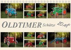 Oldtimer Schätze. Ein Traktoren-Kalender (Tischkalender 2018 DIN A5 quer) von Roder,  Peter