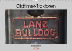 Oldtimer Traktoren – Embleme (Wandkalender 2020 DIN A3 quer) von Ehrentraut,  Dirk