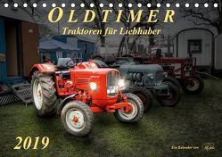 Oldtimer – Traktoren für Liebhaber (Tischkalender 2019 DIN A5 quer) von Roder,  Peter