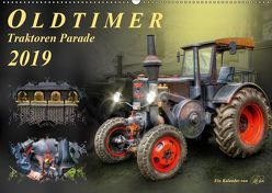 Oldtimer – Traktoren Parade (Wandkalender 2019 DIN A2 quer) von Roder,  Peter