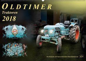 Oldtimer – TraktorenAT-Version (Wandkalender 2018 DIN A2 quer) von Roder,  Peter