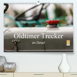 Oldtimer Trecker im Detail (Premium, hochwertiger DIN A2 Wandkalender 2021, Kunstdruck in Hochglanz) von Poetsch,  Rolf
