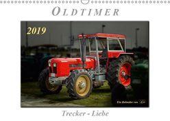 Oldtimer – Trecker Liebe (Wandkalender 2019 DIN A3 quer) von Roder,  Peter