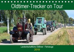 Oldtimer-Trecker on Tour (Tischkalender 2019 DIN A5 quer) von Klünder,  Günther