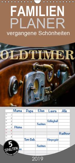 Oldtimer – vergangene Schönheiten – Familienplaner hoch (Wandkalender 2019 , 21 cm x 45 cm, hoch) von W. Lambrecht,  Markus
