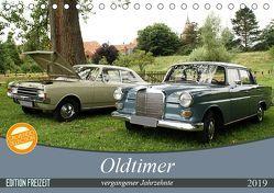 Oldtimer vergangenger Jahrzehnte (Tischkalender 2019 DIN A5 quer) von Bagunk,  Anja
