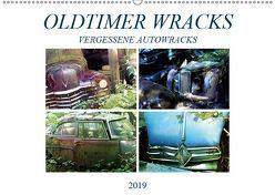 Oldtimer Wracks (Wandkalender 2019 DIN A2 quer) von Brunner-Klaus,  Liselotte