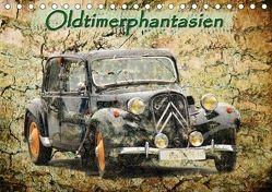 Oldtimerphantasien (Tischkalender 2018 DIN A5 quer) von Jaeger,  Michael, mitifoto,  k.A.
