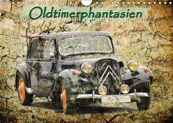 Oldtimerphantasien (Wandkalender 2018 DIN A4 quer) von Jaeger,  Michael, mitifoto,  k.A.