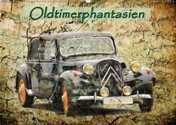 Oldtimerphantasien (Wandkalender 2019 DIN A2 quer) von Jaeger,  Michael, mitifoto,  k.A.