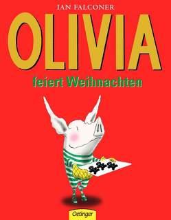 Olivia feiert Weihnachten von Enns,  Florian, Falconer,  Ian, Osberghaus,  Monika