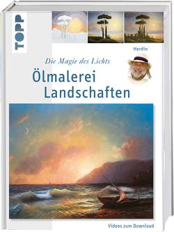 Ölmalerei Landschaften von Herdin