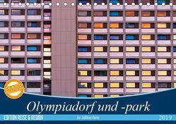 Olympiadorf und -park in München (Tischkalender 2019 DIN A5 quer) von Schikore,  Martina