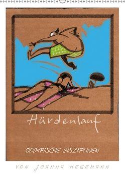 Olympische Disziplinen (Wandkalender 2018 DIN A2 hoch) von Hegemann,  dieKleinert.de/Joanna
