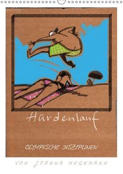 Olympische Disziplinen (Wandkalender 2018 DIN A3 hoch) von Hegemann,  dieKleinert.de/Joanna