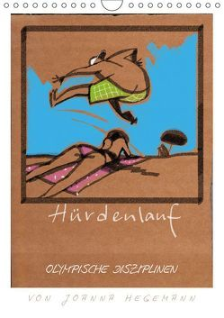 Olympische Disziplinen (Wandkalender 2019 DIN A4 hoch) von Hegemann,  dieKleinert.de/Joanna