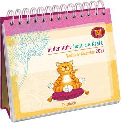 Om-Katze: In der Ruhe liegt die Kraft – Wochen-Kalender 2021 von Manneh,  Lisa