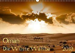 Oman – Die Wüste Wahiba (Wandkalender 2019 DIN A3 quer) von Zwanzger,  Wolfgang
