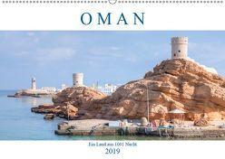 Oman – Ein Land aus 1001 Nacht (Wandkalender 2019 DIN A2 quer) von Kruse,  Joana