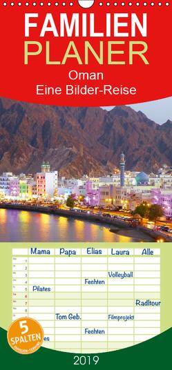 Oman – Eine Bilder-Reise – Familienplaner hoch (Wandkalender 2019 , 21 cm x 45 cm, hoch) von Heinrich,  Sebastian