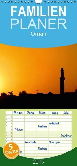 Oman – Familienplaner hoch (Wandkalender 2019 , 21 cm x 45 cm, hoch) von Dürr,  Brigitte