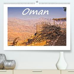 Oman – Schroffe Schönheit (Premium, hochwertiger DIN A2 Wandkalender 2020, Kunstdruck in Hochglanz) von Hackstein,  Bettina