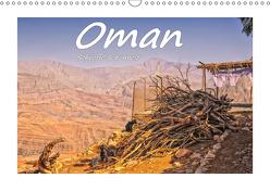Oman – Schroffe Schönheit (Wandkalender 2019 DIN A3 quer) von Hackstein,  Bettina