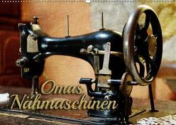 Omas Nähmaschinen (Wandkalender 2019 DIN A2 quer) von Bleicher,  Renate