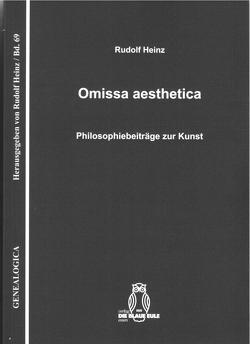 Omissa aesthetica von Heinz,  Rudolf