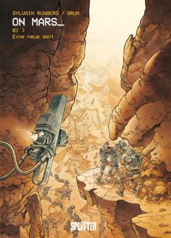 On Mars_ . Band 1 von Grun, Runberg,  Sylvain