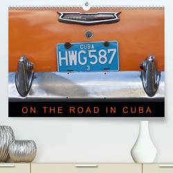 On the road in Cuba (Premium, hochwertiger DIN A2 Wandkalender 2021, Kunstdruck in Hochglanz) von Ristl,  Martin