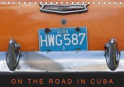 On the road in Cuba (Tischkalender 2019 DIN A5 quer) von Ristl,  Martin