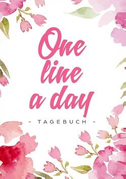One Line a Day – Das Tagebuch für deine Gedanken zu jedem Tag von Dreamer,  Day